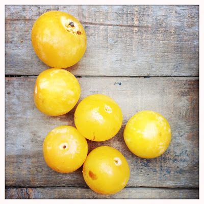 Ma cuisine à moi: Confiture de prunes jaunes