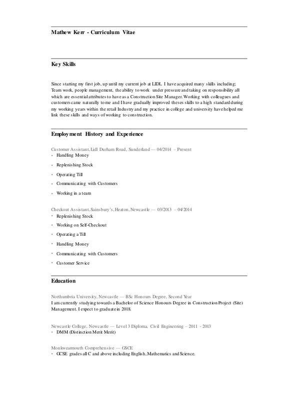Curriculum Vitae Lidl Con Imagenes Modelos De Curriculum Vitae