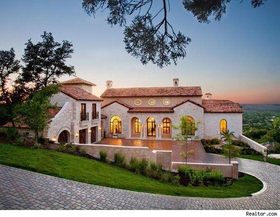 Texas mediterranean style homes amazing dream homes for Texas mediterranean style homes