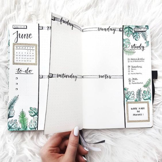 Comment créer une page de la semaine parfaite pour votre Bullet Journal ?