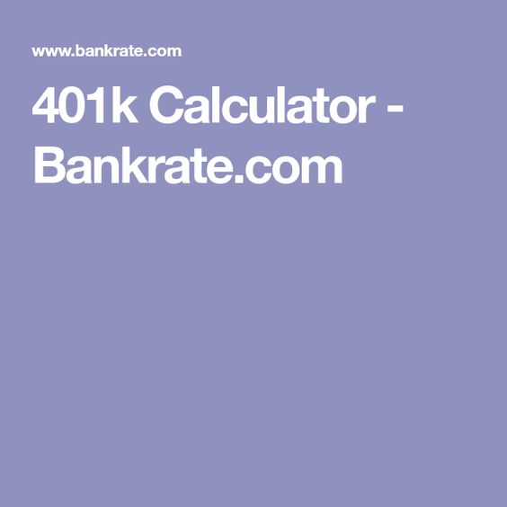 Best 25+ 401k calculator ideas on Pinterest Pay off debt - 401k calculator