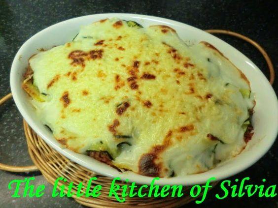 The Little Kitchen of Silvia: Pastel de patatas y calabacin