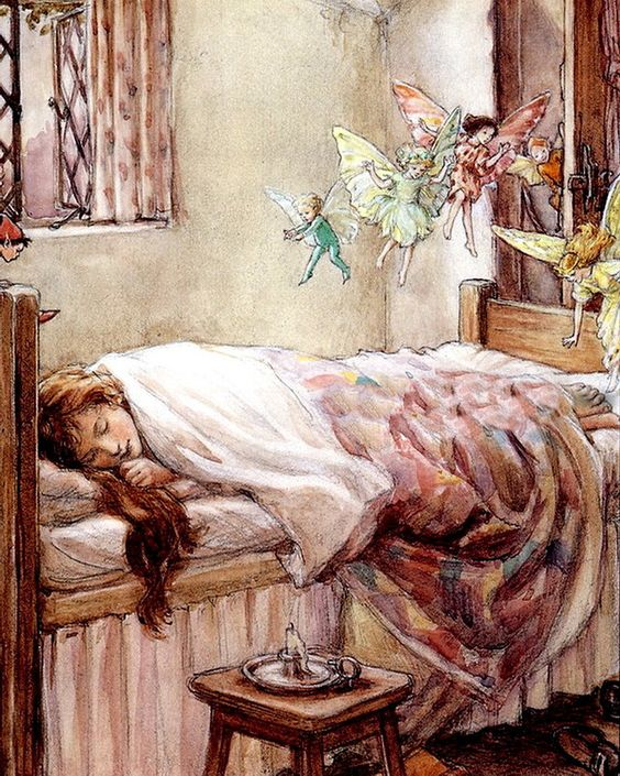 """Cicely Mary Barker - """"Dream of fairies"""" 