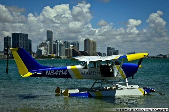 Miami Seaplane Tours. #SpinoutDay