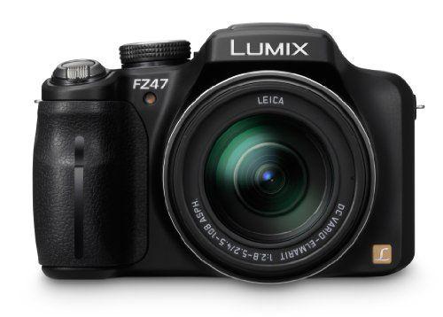 Panasonic Lumix DMC-FZ47K 12.1 MP Digital Camera with 24xOpt