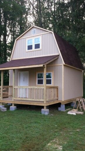Home Depot Tiny Home Small House Tiny House 16 X 16 Two
