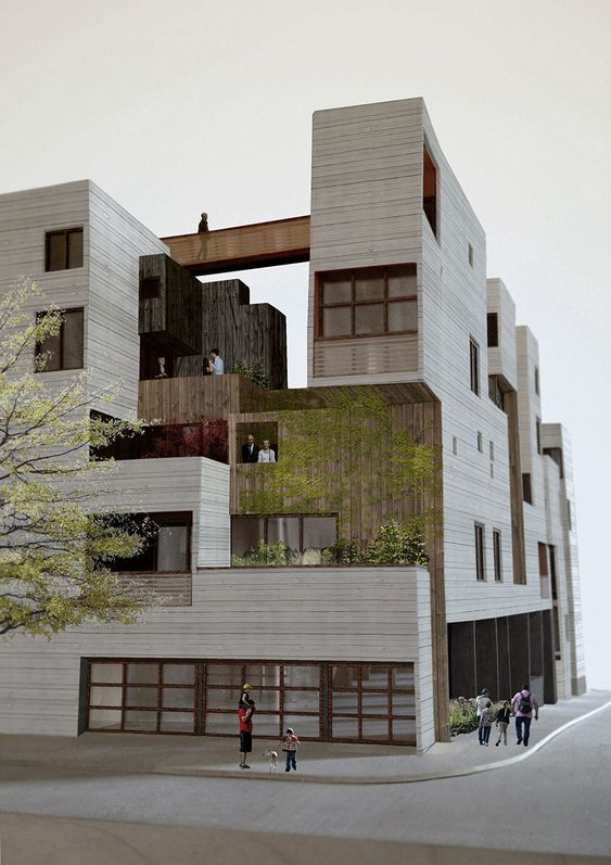 A building for people by sebastian mariscal allston ma for Apartment building design ideas