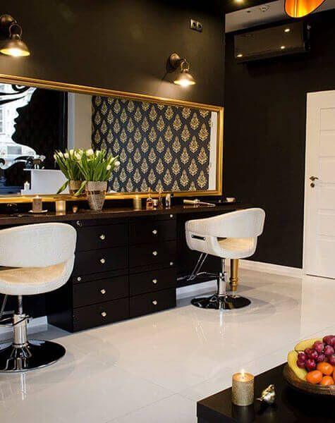 Pin By Maquillarte Miriam Fierro Maqu On Sillones Y Muebles In 2020 Beauty Salon Decor Salon Decor Hair Salon Design
