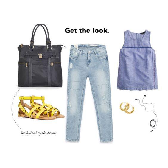 Louise Backpack Diaper Bag in black! C-c-c-cute! #diaperbag #stylechat #moms