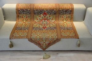 Beautiful-Moroccan-Style-Woven-Fine-Tapestry-Wall-Hanging-Tassels-54-x-66