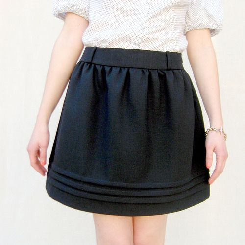 Angela Osborn AW11-202 Claudia Skirt Downloadable Pattern sewing pattern