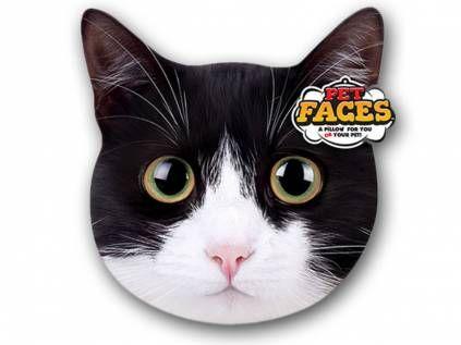 Kissen & KissenbezügePet Faces Kissen Katze: Hauskatze -50 cm-