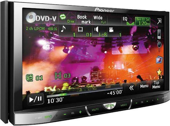 Pioneer AVH-8400BT - Nouvel auto-radio multimédia Bluetooth pour mars 2012 !