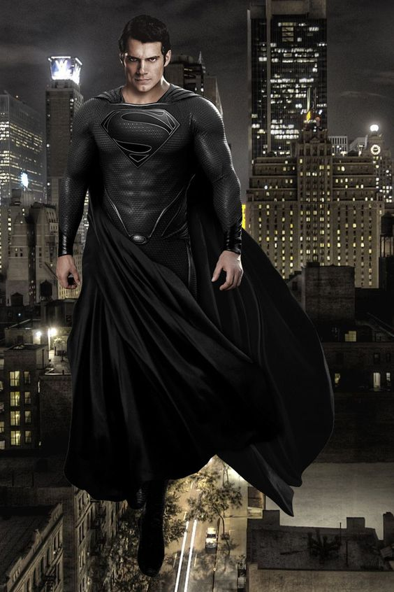 Ogh, yes to the black cape! (Black suit spam, be aware)