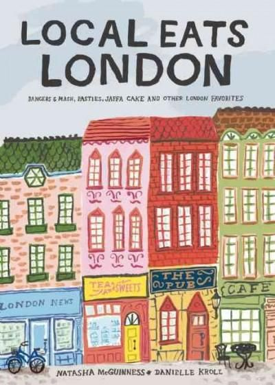 Local Eats London is a charming guide to the traditional British fare found in the markets, pubs, tea shops and cafes of the city. Informative text defines each food item, so those wondering what exac