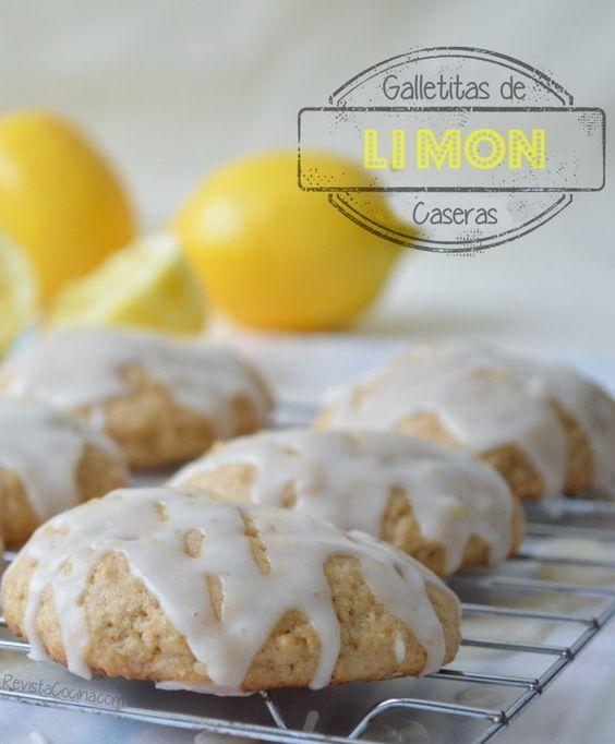 Galletitas caseras de  limon - Las galletas que hoy explicaremos son muy sencillas de hacer y el sabor es impresionante,