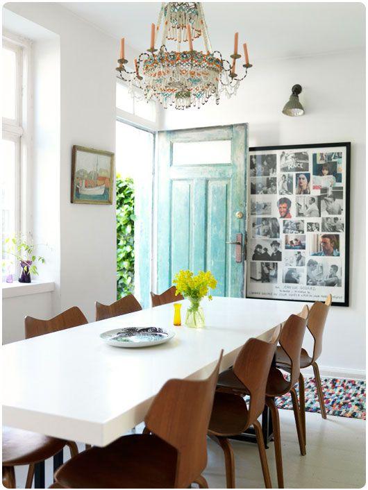love the door | chandelier | everything