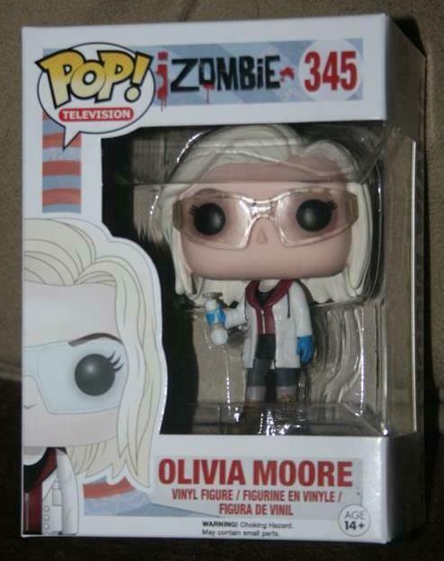 iZombie Olivia Moore with Glasses Pop Vinyl Figure NEW Funko