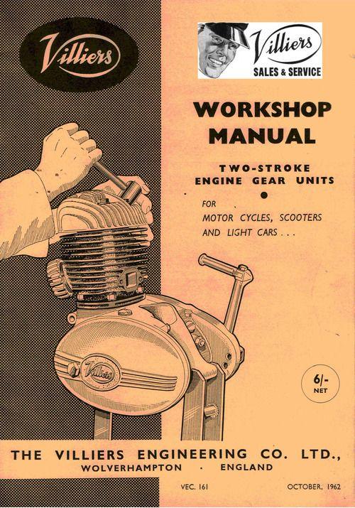 Villiers General Specification Sheet 25c In 2020 Repair Manuals Manual Workshop