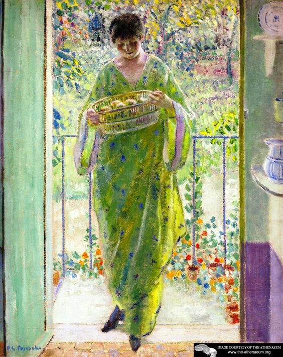 The Kitchen Door Frederick C. Frieseke