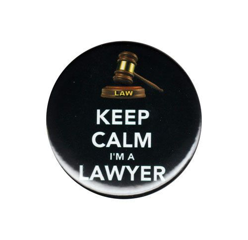 Keep Calm I'm A Lawyer Button Badge by AlienAndEarthling on Etsy