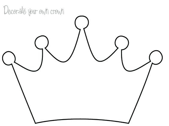 Crown Coloring Page With Images Coloring Pages