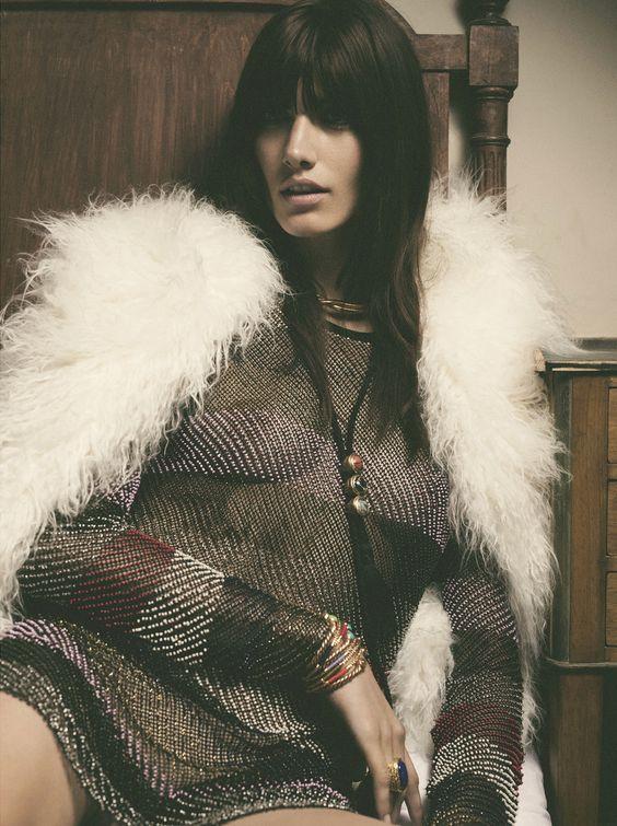 Ronja Furrer by Gregory Harris for Vogue Paris September 2014