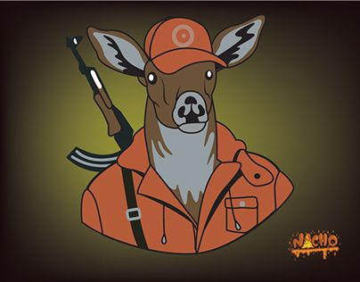 """Check out new work on my @Behance portfolio: """"Hunting time"""" http://on.be.net/1LQ9Ywc"""