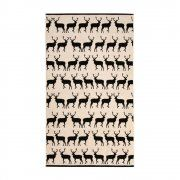 Anorak Kissing Stags Bath Sheet