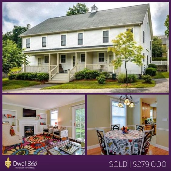Edward Johnston and John Lynch found their client this townhouse style condominium in Sherborn, Massachusetts. Seated in a cul-de-sac, this sunny end unit offered a modern kitchen, living room with hardwood floors, storage in basement, and generously sized bedrooms. We wish the new owner much happiness in their new home!
