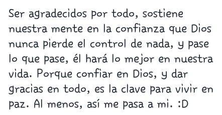Dios nunca pierde el control