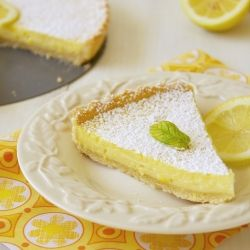 The best thing about this cake is delicious lemon filling. It is very soft, creamy, both sweet and sour