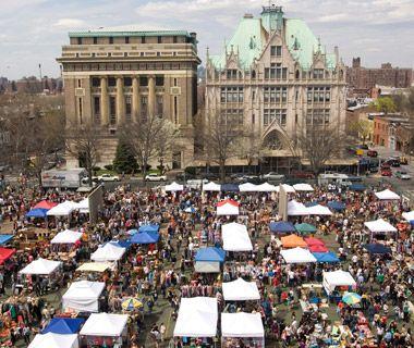 Flea Markets, Brooklyn, NYC.