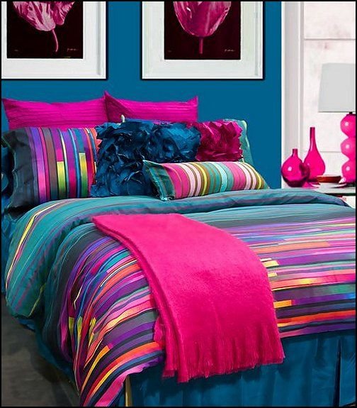 My husband wouldn 39 t be too crazy about the colors but they sure look great tuncluer textile - Cute teenage girl bedding sets ...
