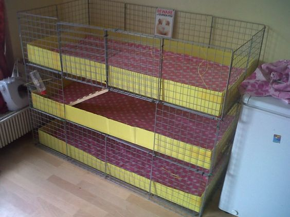 Unique guinea pig cages by 1 9 my cage is three level c for 2 story guinea pig cages for sale