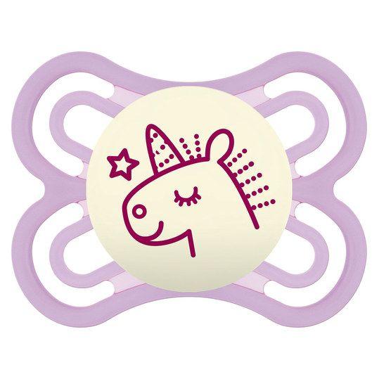 Leucht Schnuller Perfect Night Silikon 0 6 M Fur Madchen Schnuller Baby Erstausstattung Beruhigungssauger