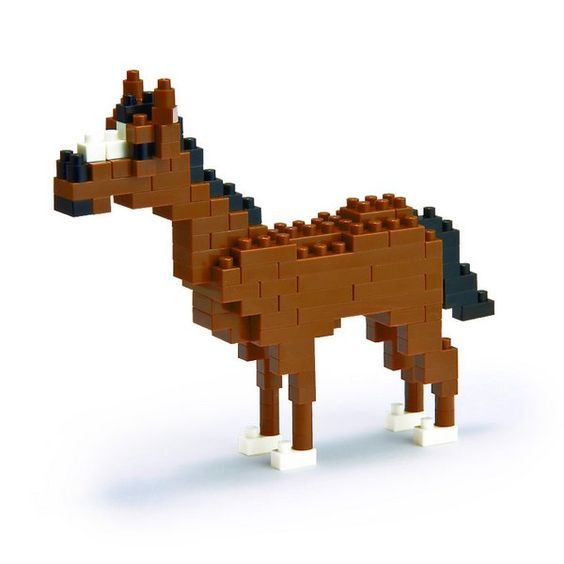 cheval minecraft bricolage jasmine pinterest lego minecraft et construction. Black Bedroom Furniture Sets. Home Design Ideas
