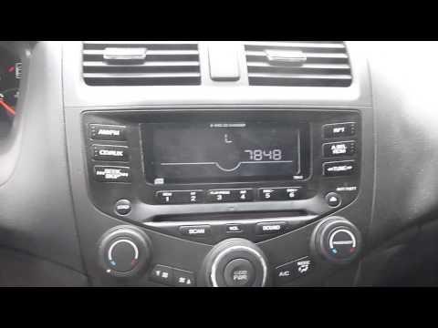 Honda Accord Radio Unlock Instructions And Codes Youtube Honda Accord Radio Honda