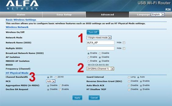 How to optimize your Alfa R36 router