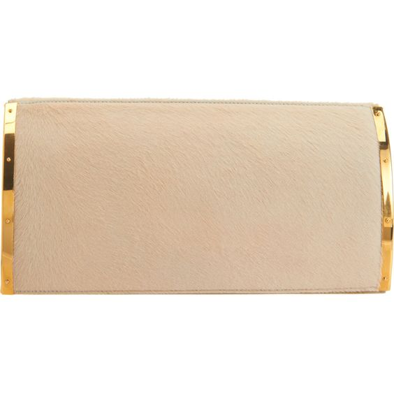 Ponyhair Ayla Clutch from Maiyet for Barneys New York