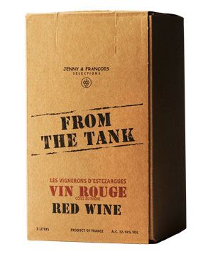 The Best Boxed Wines  2007 From the Tank Côtes-du-Rhône Vin Rouge