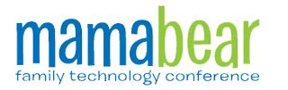 our upcoming conference on simple, safe tech for kids, moms, & families: http://mamabeartech.co