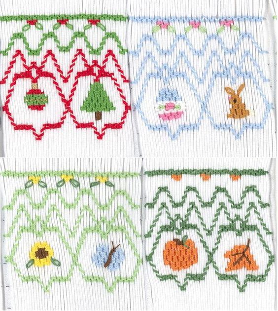 Bishop for All Seasons Smocking Plate by Crosseyed Cricket