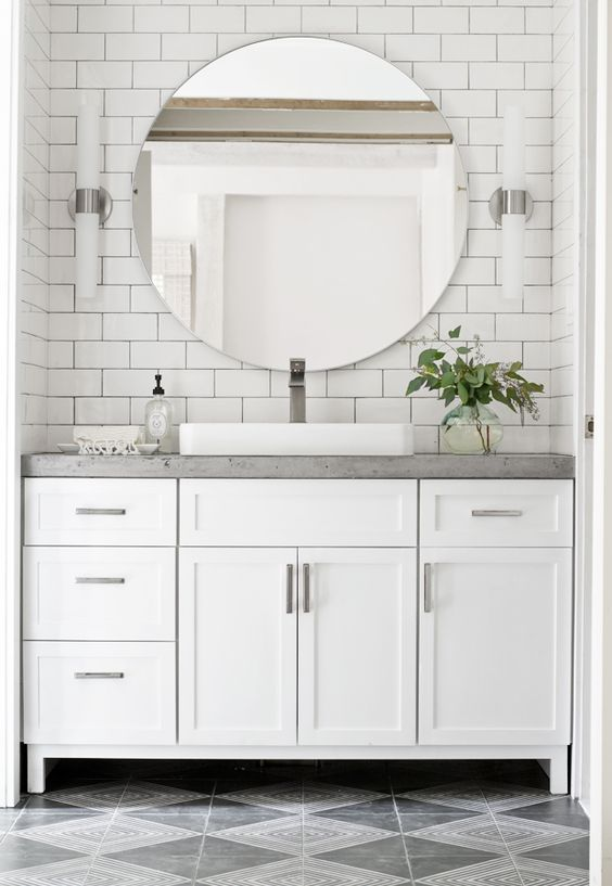 Sarah M. Dorsey shared his experience about renovating #bathroom with our '#BathroomFaucet'. Want to know more? Just click http://sarahmdorseydesigns.blogspot.com/2016/08/lower-bathroom-renovation-complete.html?spref=fb #BathroomRenovation