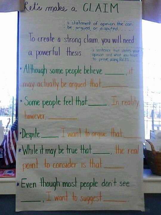 Claim Of Fact Essay Topics Awesome F086f738a22af600b Cc2098b9 540 720 Pixels Writing Lessons Persuasive Writing Teaching Writing