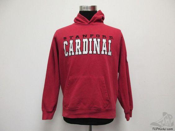 Stadium Stanford Cardinals Hoody Hoodie Sweatshirt sz M Medium SEWN NCAA  #Stadium #StanfordCardinal