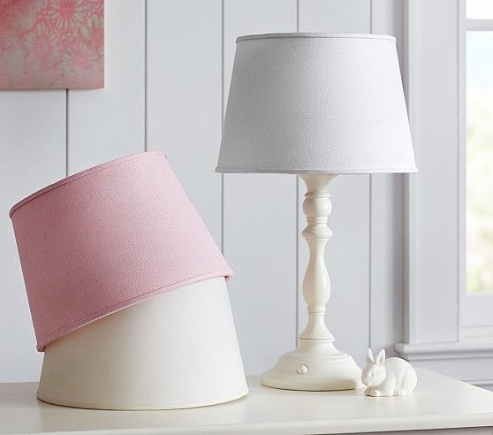Textured Linen Marnie Shade | Pottery Barn Kids
