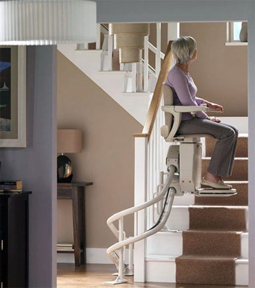 Curved Stair Lift Platform Lift Stairway Lifts And Straight