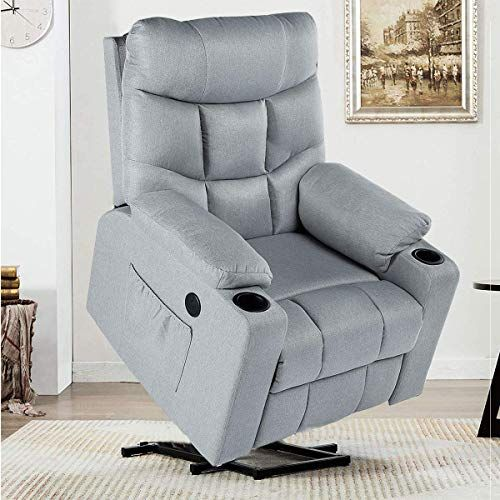 New Yodolla Electric Power Recliner Chair Recliner Sofa With Massage Heat Function Lazy Boy Recliner Chair In 2020 Power Recliner Chair Recliner Chair Reclining Sofa