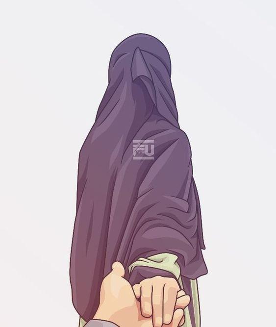 Kumpulan Gambar Kartun Muslimah 8
